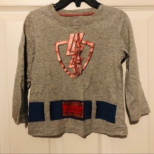 Long sleeve superhero shirt size 2T